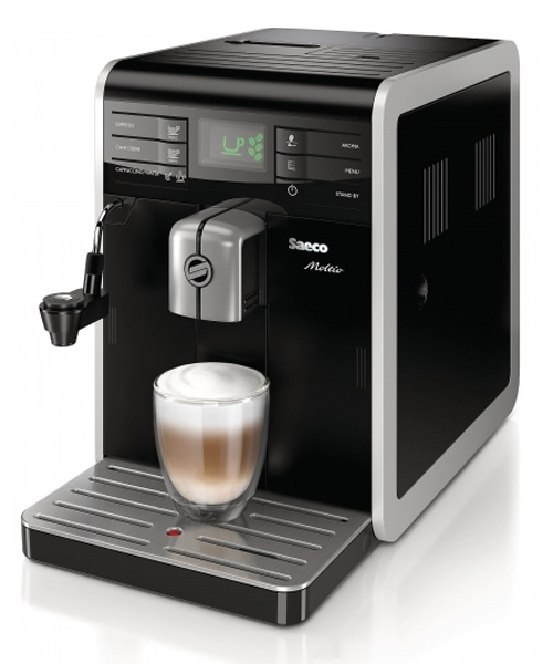 Автоматическая кофемашина Philips-Saeco Philips-Saeco Moltio Class Cappuccino Black HD876809