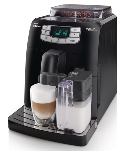 Philips_Saeco Intelia One Touch Cappuccino Black HD875319